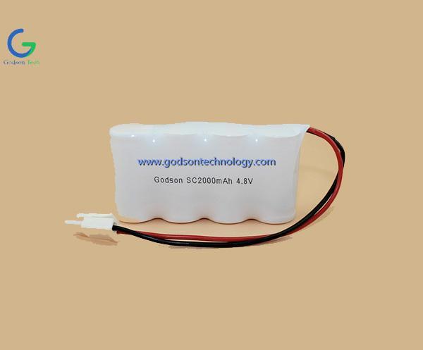 镍隔充电电池组 SC2000mAh 4.8V