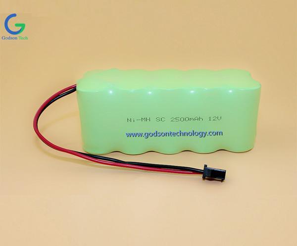 镍氢充电电池组 SC2500mAh 12V