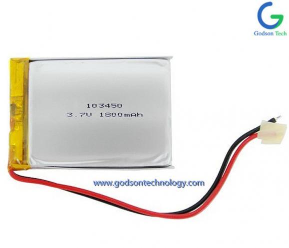 聚合物锂电池 103450 1800mAh 3.7V
