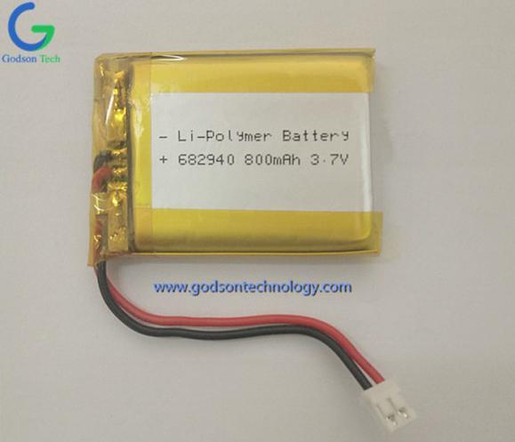 聚合物锂电池 682940 800mAh 3.7V