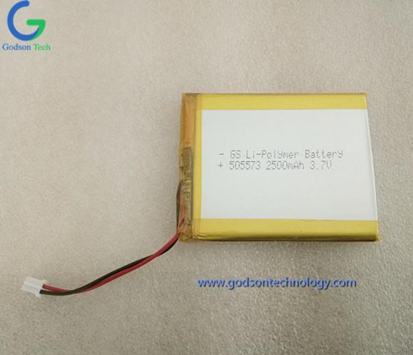 聚合物锂电池 505573 2500mAh 3.7V