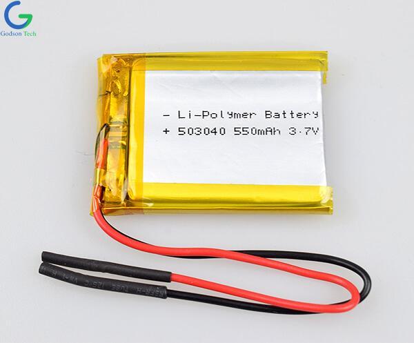 聚合物锂电池 503040  550mAh 3.7V