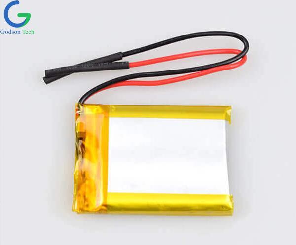 聚合物锂电池 103040 1200mAh 3.7V