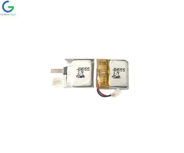 聚合物锂电池 451515 55mAh 3.7V
