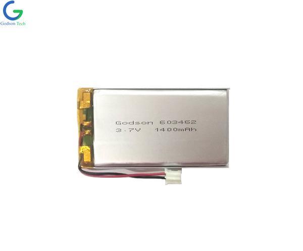 聚合物锂电池 603462 1400mAh 3.7V